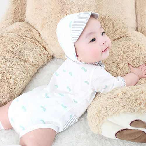 MEREBE - BRAND - Korean Children Fashion - #Kfashion4kids - Sprout Baby Midi Bodysuit