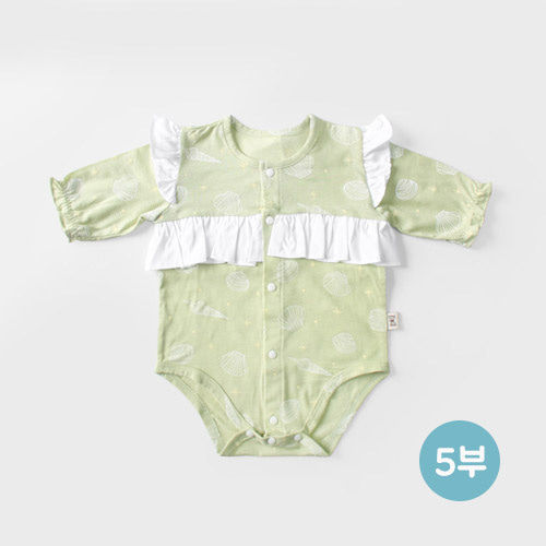 MEREBE - BRAND - Korean Children Fashion - #Kfashion4kids - Shall We Dance Short Bodysuit