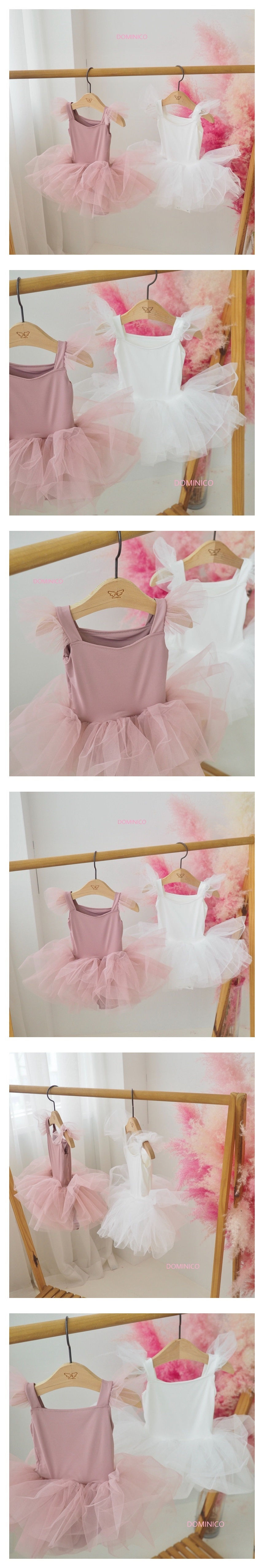 MINI CLEF - Korean Children Fashion - #Kfashion4kids - Pure Wing Ballet Suit