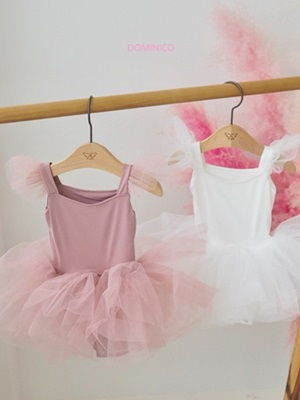 MINI CLEF - BRAND - Korean Children Fashion - #Kfashion4kids - Pure Wing Ballet Suit