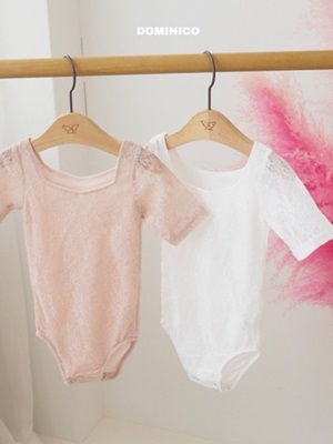 MINI CLEF - BRAND - Korean Children Fashion - #Kfashion4kids - Lace Short Leotard
