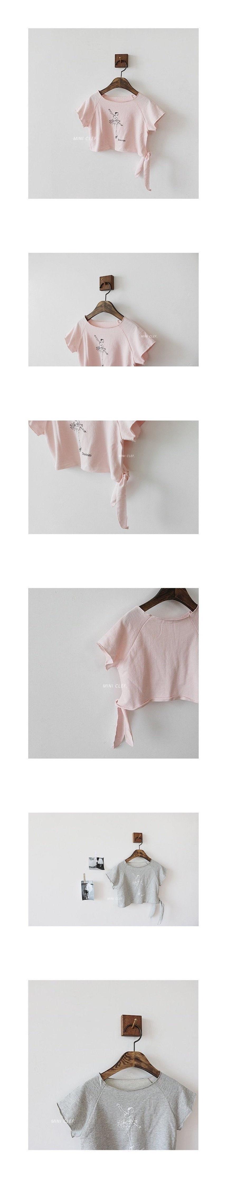 MINI CLEF - Korean Children Fashion - #Kfashion4kids - Ballerina Tee