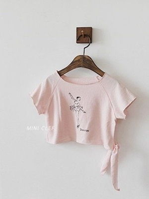 MINI CLEF - BRAND - Korean Children Fashion - #Kfashion4kids - Ballerina Tee
