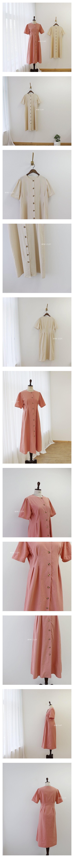 MINI CLEF - Korean Children Fashion - #Kfashion4kids - Mom Eden Pintuck One-piece