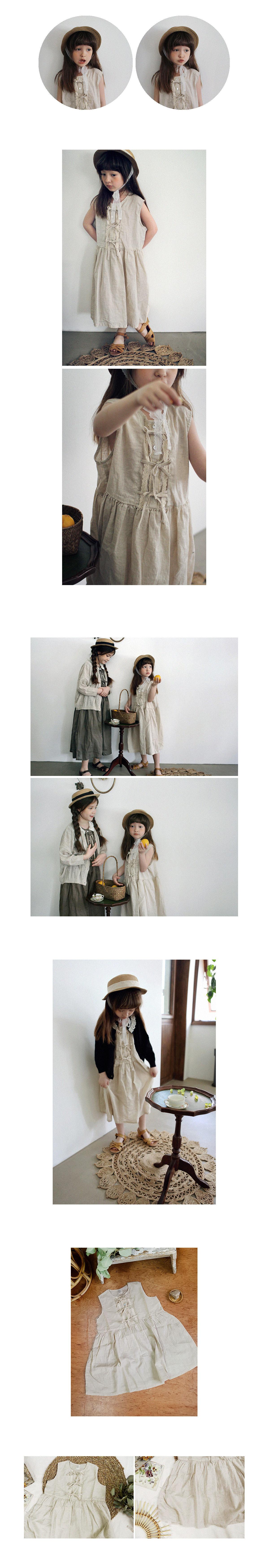 SCON - Korean Children Fashion - #Kfashion4kids - Mori One-piece - 4