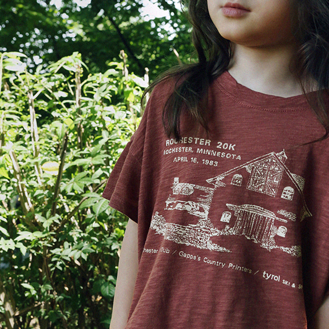 SCON - BRAND - Korean Children Fashion - #Kfashion4kids - Minesota Tee