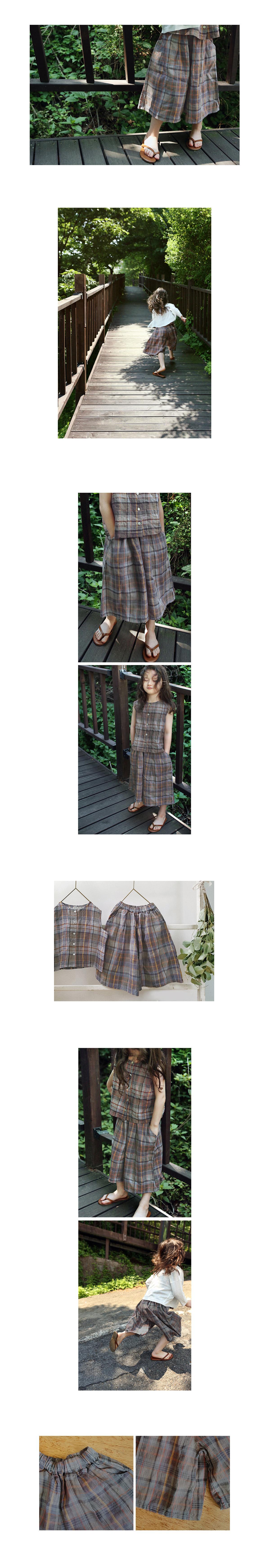 SCON - Korean Children Fashion - #Kfashion4kids - Coco Wide Pants - 2