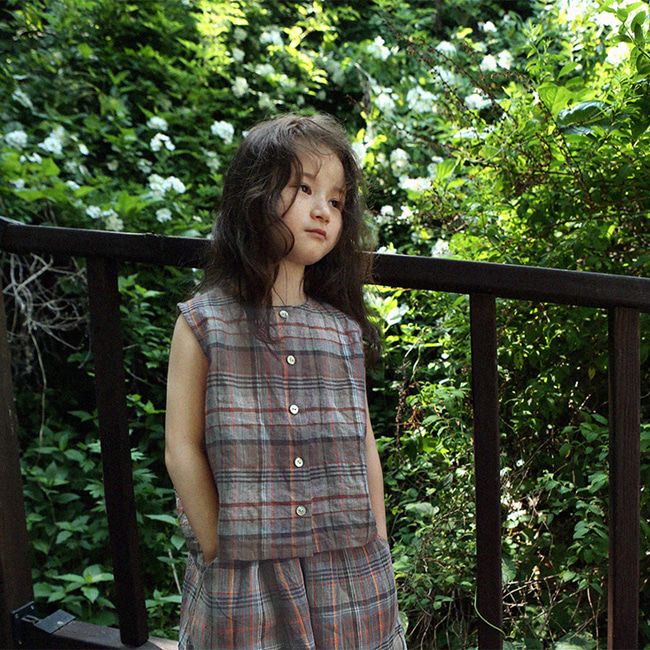SCON - BRAND - Korean Children Fashion - #Kfashion4kids - Mocca Blouse