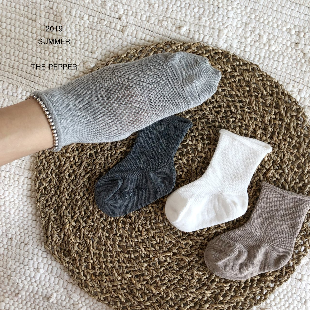THE PEPPER - Korean Children Fashion - #Kfashion4kids - Mesh Socks [set of 4] - 6