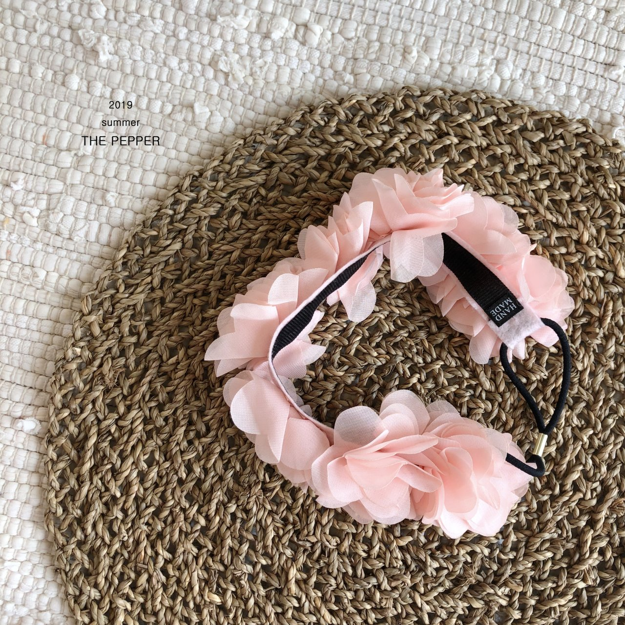 THE PEPPER - Korean Children Fashion - #Kfashion4kids - Volume Flower Hairband - 2