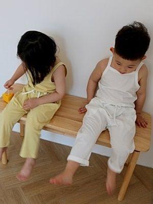 VIVACITY - BRAND - Korean Children Fashion - #Kfashion4kids - Daily Top Bottom Set