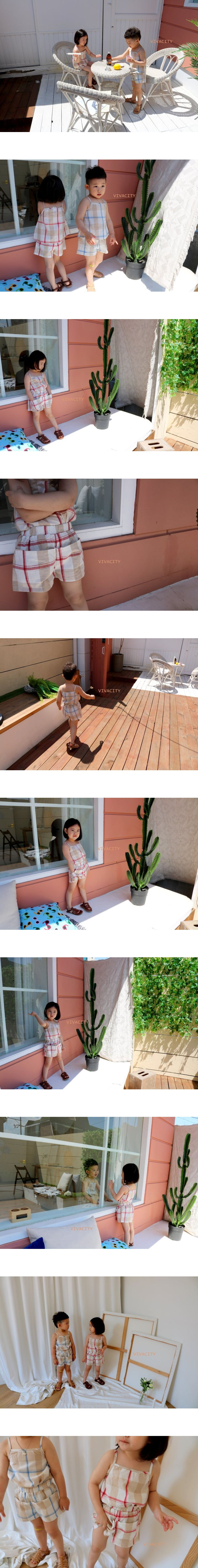 VIVACITY - Korean Children Fashion - #Kfashion4kids - Vivi Top Bottom Set