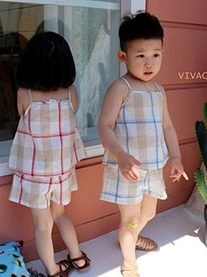 VIVACITY - BRAND - Korean Children Fashion - #Kfashion4kids - Vivi Top Bottom Set