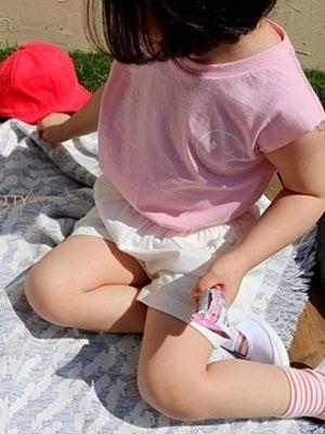 VIVACITY - BRAND - Korean Children Fashion - #Kfashion4kids - Smile Top Bottom Set