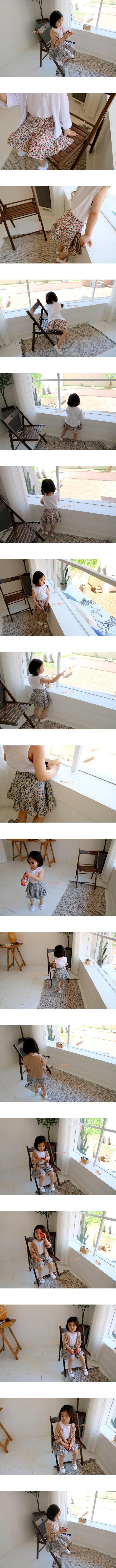 VIVACITY - Korean Children Fashion - #Kfashion4kids - Cancan Mini Skirt