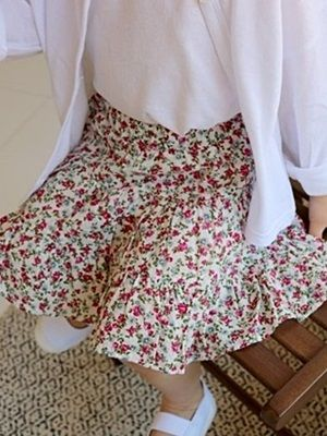 VIVACITY - BRAND - Korean Children Fashion - #Kfashion4kids - Cancan Mini Skirt