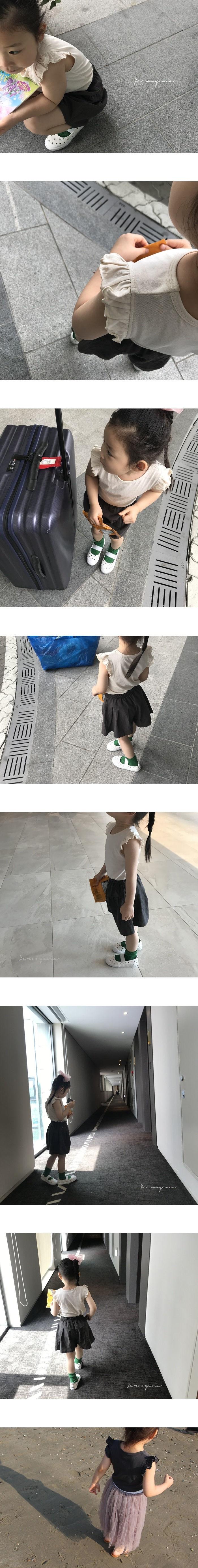 YEROOYENA - Korean Children Fashion - #Kfashion4kids - Minimal Wing Tee