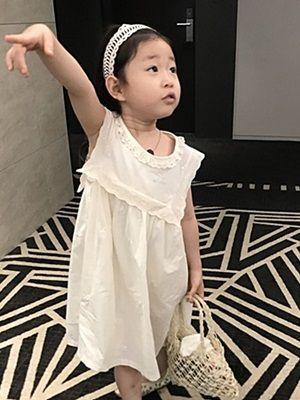 YEROOYENA - BRAND - Korean Children Fashion - #Kfashion4kids - Flower Pure One-piece with Inner Pants