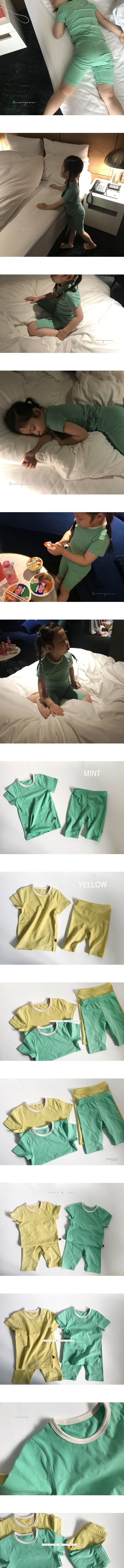 YEROOYENA - Korean Children Fashion - #Kfashion4kids - Candy Summer Easywear