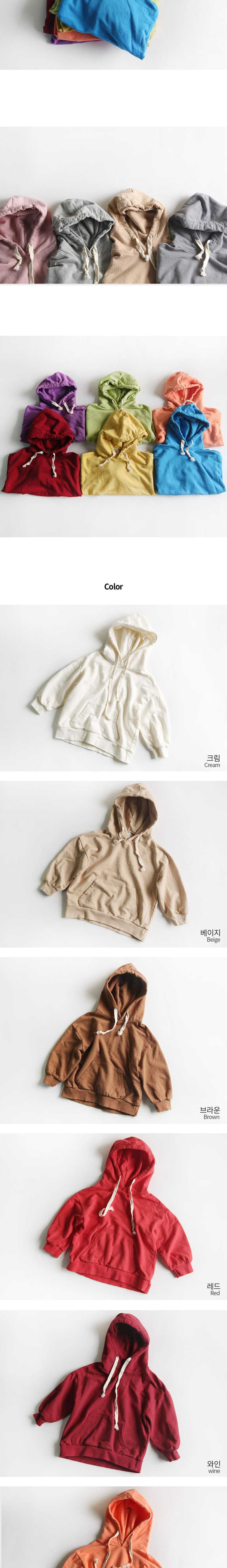 WHITESKETCHBOOK - Korean Children Fashion - #Kfashion4kids - Sugar Hoody - 2