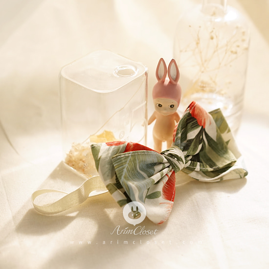 ARIM CLOSET - BRAND - Korean Children Fashion - #Kfashion4kids - Linen Ribbon Hairband