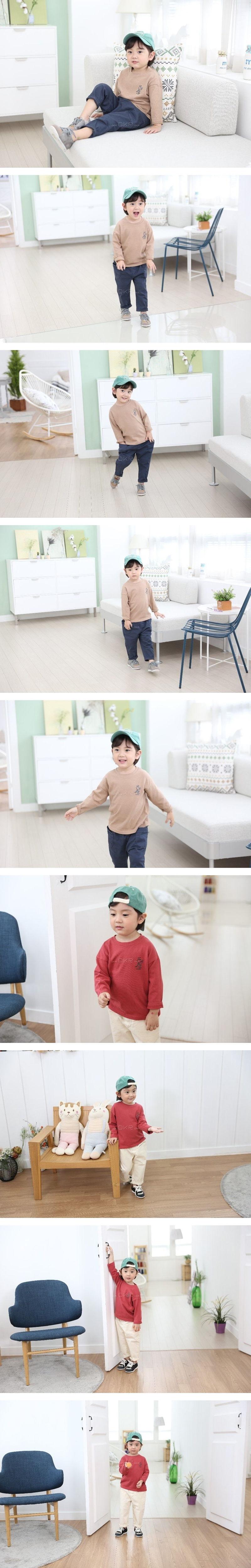COMMENCER - Korean Children Fashion - #Kfashion4kids - Dino Tee