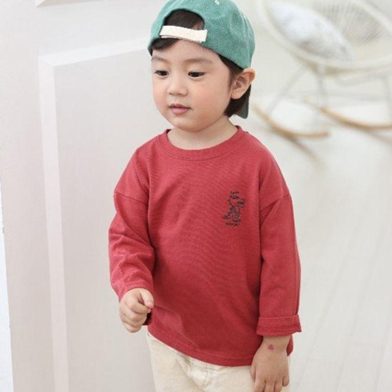 COMMENCER - BRAND - Korean Children Fashion - #Kfashion4kids - Dino Tee