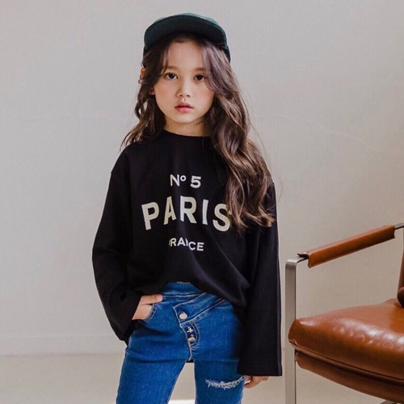 DORE DORE - BRAND - Korean Children Fashion - #Kfashion4kids - Paris Tee