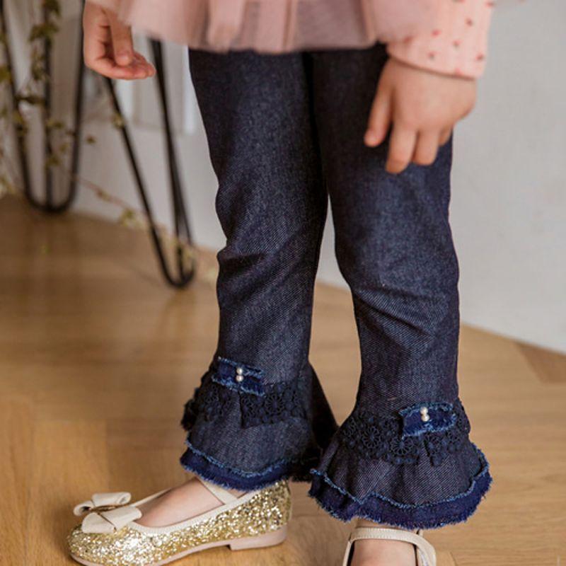 MARI AN U - BRAND - Korean Children Fashion - #Kfashion4kids - Ruffle Pants