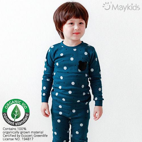 MAYKIDS - BRAND - Korean Children Fashion - #Kfashion4kids - Deng Deng Bear Playwear