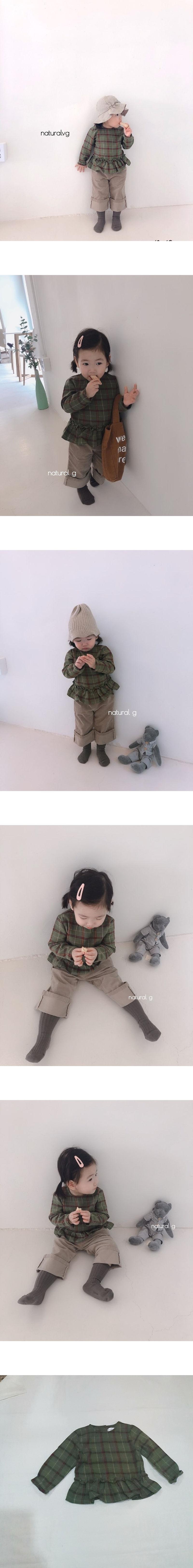 NATURAL G - Korean Children Fashion - #Kfashion4kids - Razon Blouse