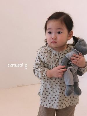 NATURAL G - BRAND - Korean Children Fashion - #Kfashion4kids - Laurie Blouse