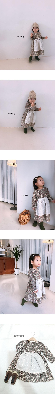 NATURAL G - Korean Children Fashion - #Kfashion4kids - Party One-piece