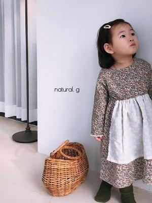NATURAL G - BRAND - Korean Children Fashion - #Kfashion4kids - Party One-piece