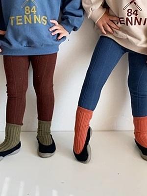 PAUL & J - BRAND - Korean Children Fashion - #Kfashion4kids - Autumn Rib Leggings
