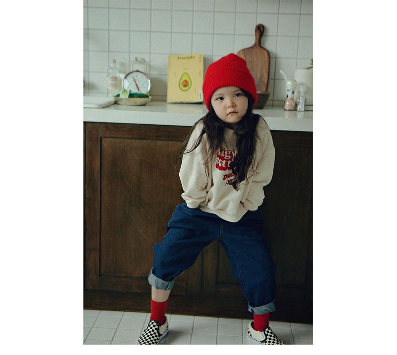 PEACH-CREAM - Korean Children Fashion - #Kfashion4kids - Mac Sweat Shirt