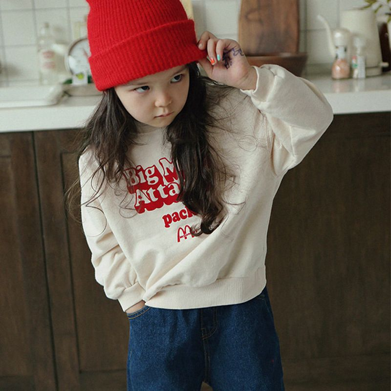 PEACH-CREAM - BRAND - Korean Children Fashion - #Kfashion4kids - Mac Sweat Shirt