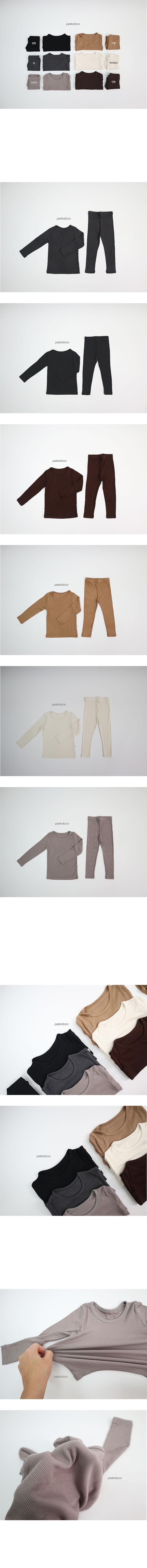 PEEKABOO - Korean Children Fashion - #Kfashion4kids - Long Cool Easywear