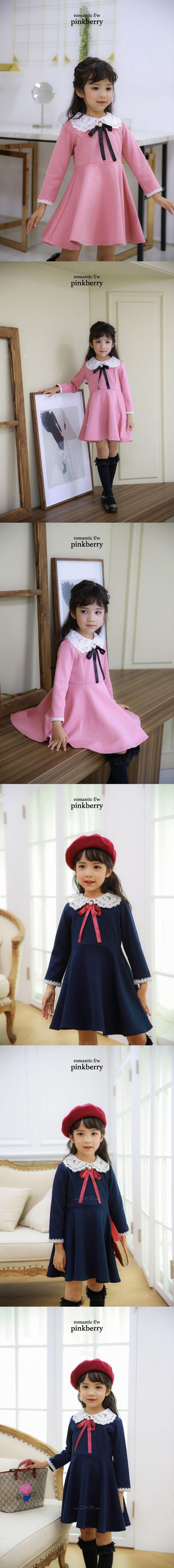 PINK BERRY - Korean Children Fashion - #Kfashion4kids - Irin One-piece