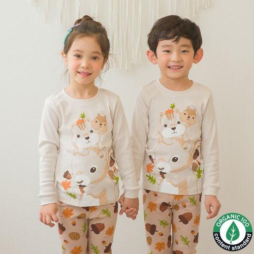 PUCO - BRAND - Korean Children Fashion - #Kfashion4kids - Lamb Friends Easywear