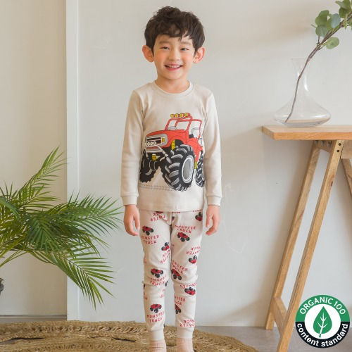 PUCO - BRAND - Korean Children Fashion - #Kfashion4kids - Monster Car Easywear