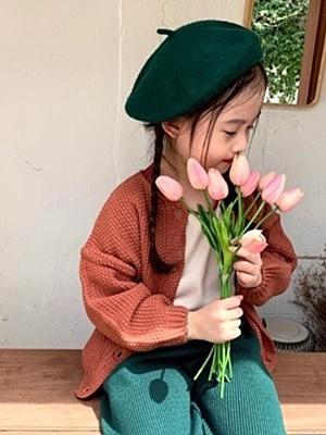 SAINT DOLL - BRAND - Korean Children Fashion - #Kfashion4kids - Andue Cardigan