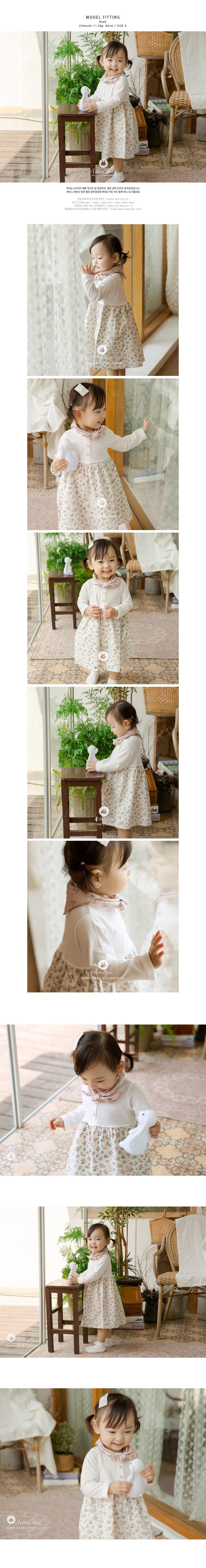 ARIM CLOSET - Korean Children Fashion - #Kfashion4kids - Lovely Cute Flower Dress - 3