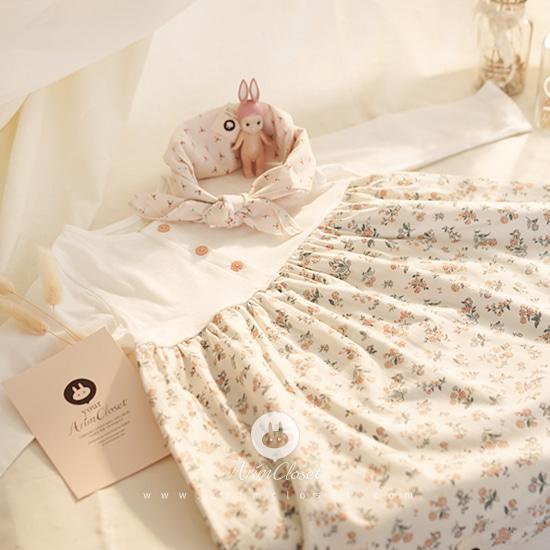 ARIM CLOSET - BRAND - Korean Children Fashion - #Kfashion4kids - Lovely Cute Flower Dress