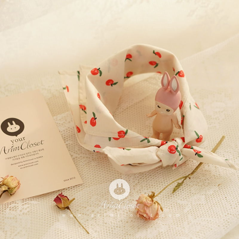 ARIM CLOSET - BRAND - Korean Children Fashion - #Kfashion4kids - Cute Apple Baby Scarf