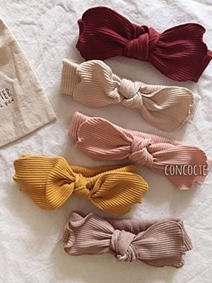 CONCOCTER - BRAND - Korean Children Fashion - #Kfashion4kids - Rib Hairband