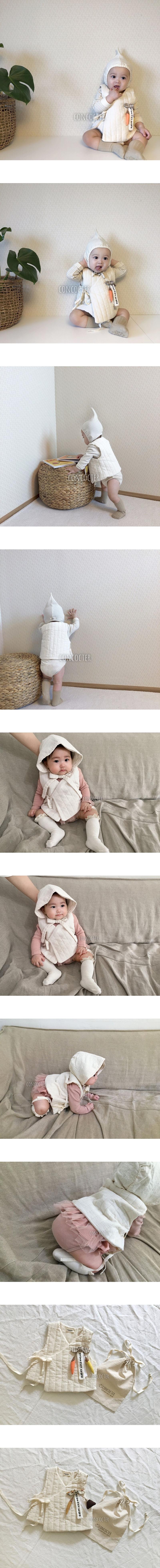 CONCOCTER - Korean Children Fashion - #Kfashion4kids - Bebe Napping Vest