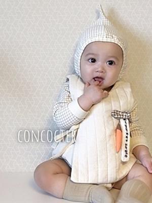 CONCOCTER - BRAND - Korean Children Fashion - #Kfashion4kids - Bebe Napping Vest