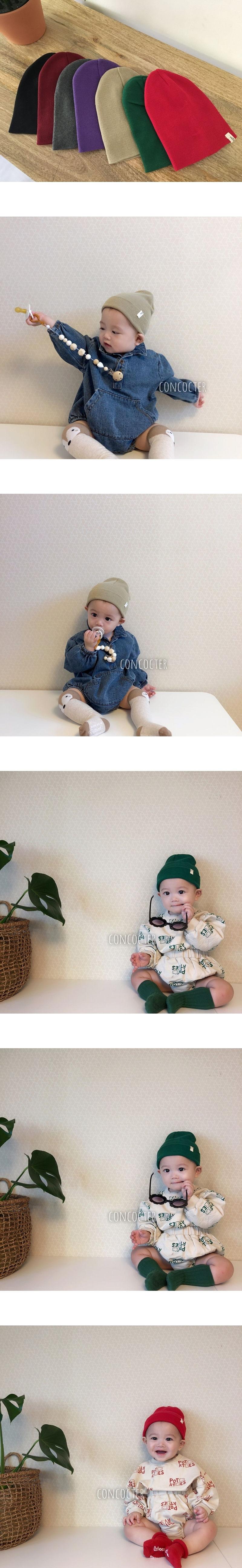 CONCOCTER - Korean Children Fashion - #Kfashion4kids - Bebe Knit Beanie
