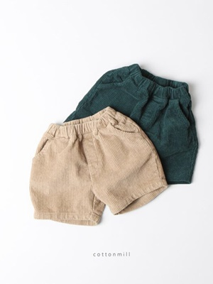 COTTON MILL - BRAND - Korean Children Fashion - #Kfashion4kids - Corduroy Pants
